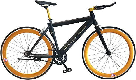 Helliot Bikes Fixie Nolita 50, Ruedas de 28 Pulgadas, Llantas de ...