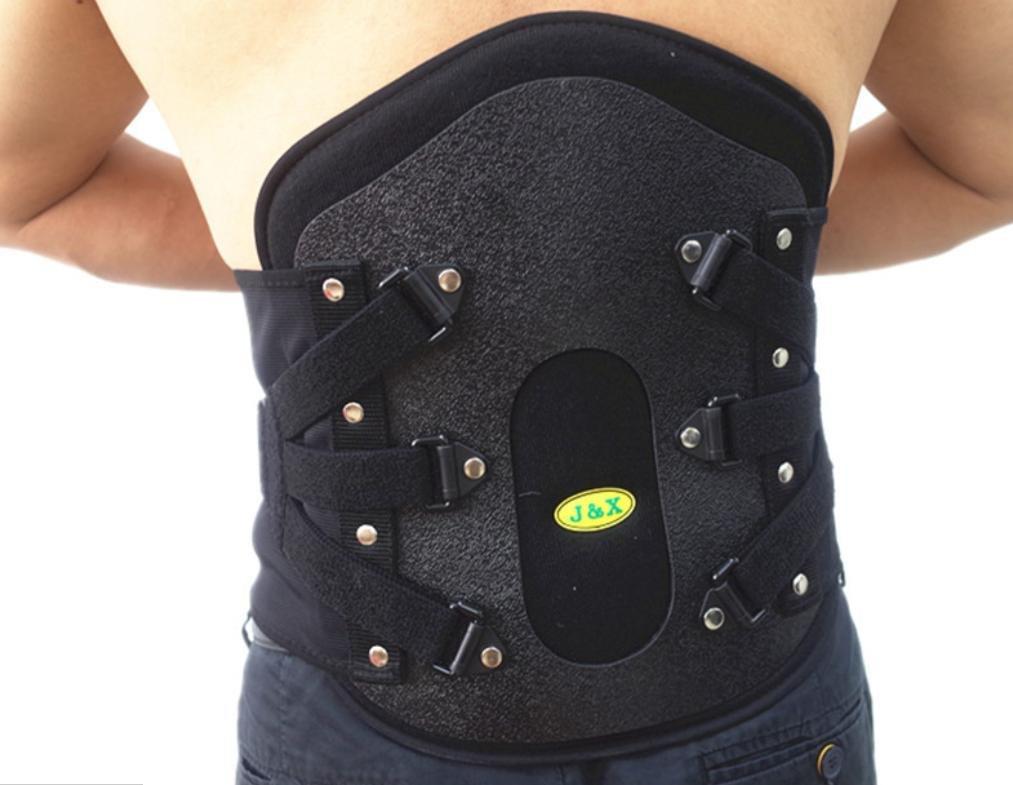 LUCKYYAN Medical Grade Postoperative Strong Lumbar Fixation Belt Protective belts,Thoracolumbar Orthosis, Waist Belt with Adjustable Double Strap ,Detachable back pad design , m