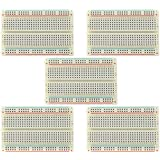 5pcs 400-Points Solderless Breadboard with Adhesive Tape for Proto Shield Circboard Prototyping¡