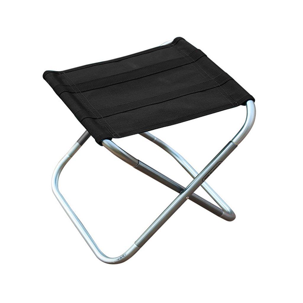 WANGXIAOLIN Mountain Customer Outside Folding Portable Stool Sketch Art Stool (Color : Black)