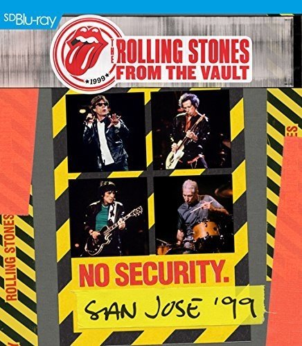 The Rolling Stones   From The Vault  No Security  San Jose 99  Blu Ray 2Cd