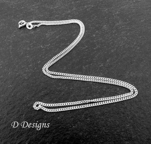 Knitting Wool Necklace Personalised !6 Necklace Sterling Silver Necklace Knitting Gifts 18 Chain