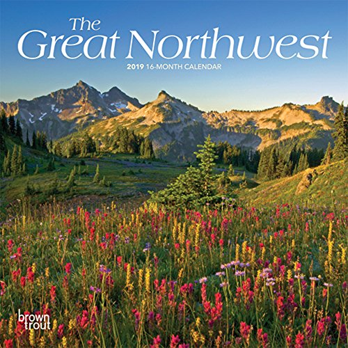 The Great Northwest 2019 7 x 7 Inch Monthly Mini Wall Calendar, USA United States of America Scenic Nature (Multilingual Edition)