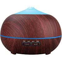 TENSWALL 400ml Wood Grain Essential Oil Diffusers Ultrasonic Humidifier