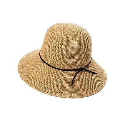 4c5e650c43f67 Lieyliso Sombreros de Paja para Mujeres