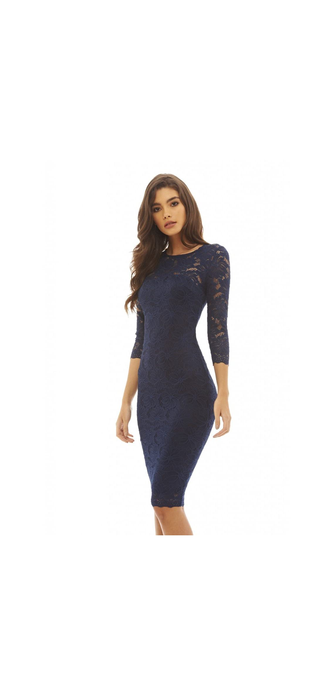 Ax Paris Women's / Sleeve Lace Bodycon