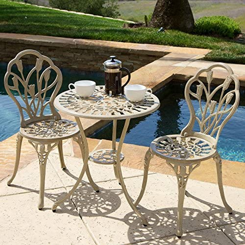 Best Selling Cayman Sand Bistro Set