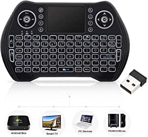 Black Wireless Mini Keyboard /& Mouse Easy Control Browser for Sony BRAVIA KD49XG70 49 Remote Control for YouTube