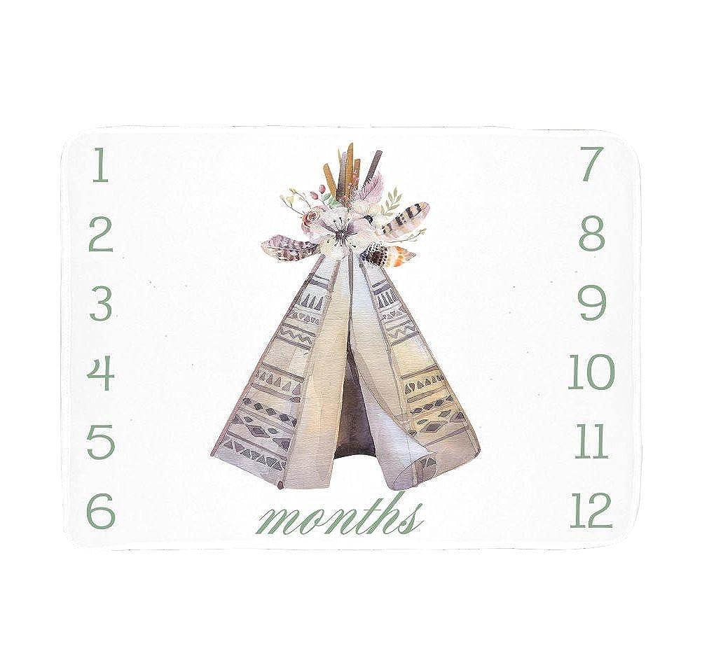 Sobilar SHIRT ベビーガールズ Small Fleece Blanket (30\ ホワイト B07C18MS1Z