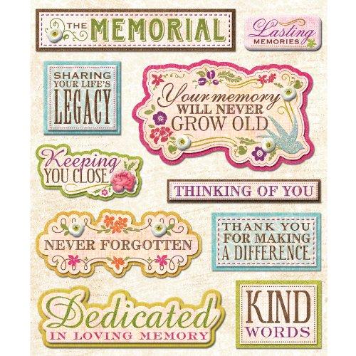 (K&Company Memorial Site Sticker Medley)