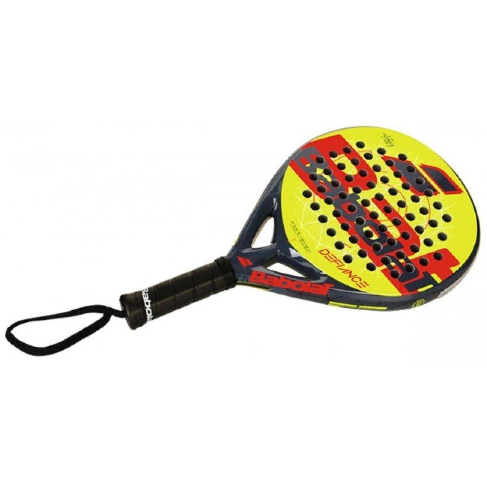 Babolat Raqueta de padel Defiance gris amarillo - Padel Tenis: Amazon.es: Deportes y aire libre