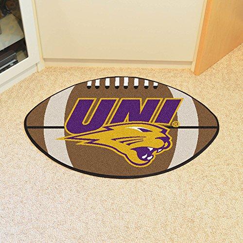 - FANMATS NCAA University of Northern Iowa Panthers  Nylon Face Football Rug