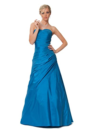 Gorgeous Corset Ball Gown Prom Dress, puffy evening dress in Blue and Green colours (