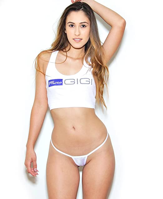 6936d4db9c82 Mini G-String - Sparkle - Angel White at Amazon Women's Clothing store: