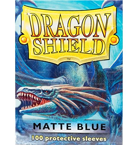 (Dragon Shield Matte Blue 100 Protective Sleeves)