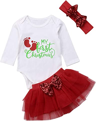 DaMohony Tulle Dress Girls Long Sleeves Spring Skirt Tutu Baby Girls Party Red