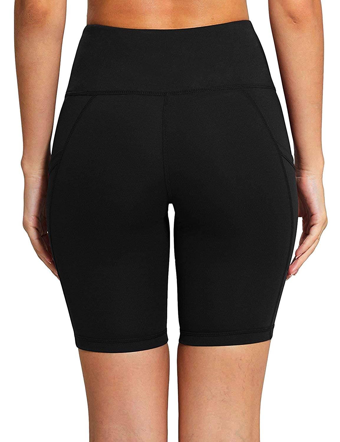 N1Fit Exercise Shorts for Women Bike Shorts Women Non See-Through Yoga Shorts