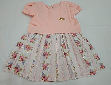 Vestido Em Algodão 249 Rosa Nana Nenem Tamanhopcorrosa