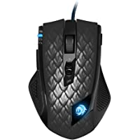 Sharkoon Drakonia Black Gaming Laser Maus 8200 dpi (11 Tasten) schwarz