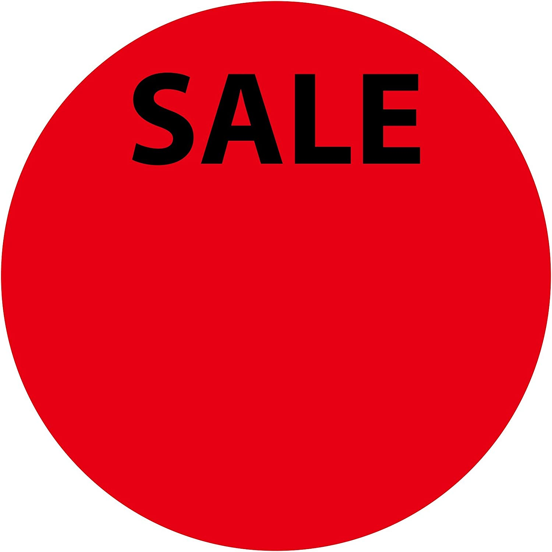 Rabattaufkleber LabelOcean Aktionsetiketten aus Papier matt selbstklebend LO-PR-PA-3070-2-600 600 Promotion Etiketten 2 cm auf Rolle Aufkleber R Sonderpreisetiketten