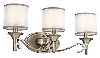 Amazon.com: Kichler lighting Luz Lacey – Aplique de pared ...