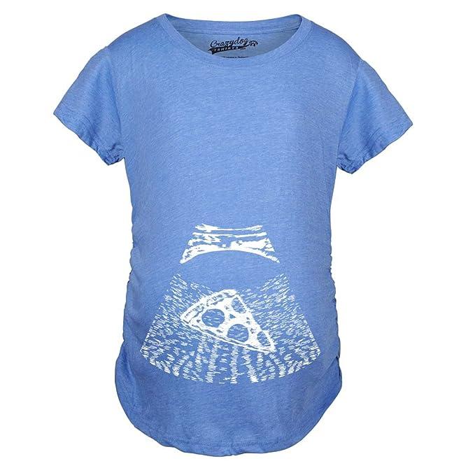 Amazon.com: Crazy camisetas de perro maternidad ultrasonidos ...