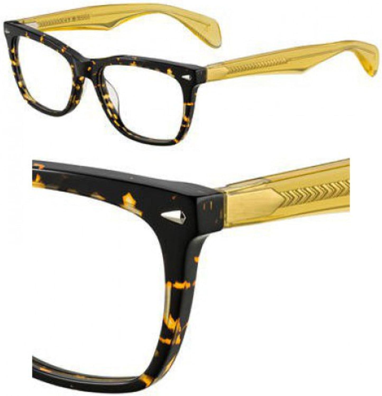 Eyeglasses Rag /& Bone Rnb 3001 0A84 Havana Yellow