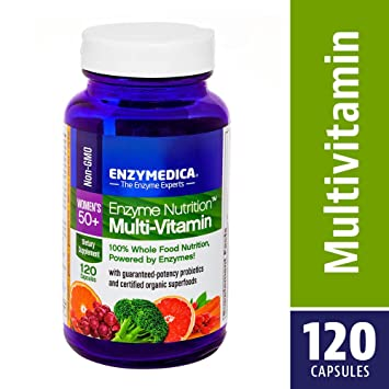 Enzymedica - enzima nutrición vitaminas para mujeres 50 + - 120 cápsulas: Amazon.es: Salud y cuidado personal