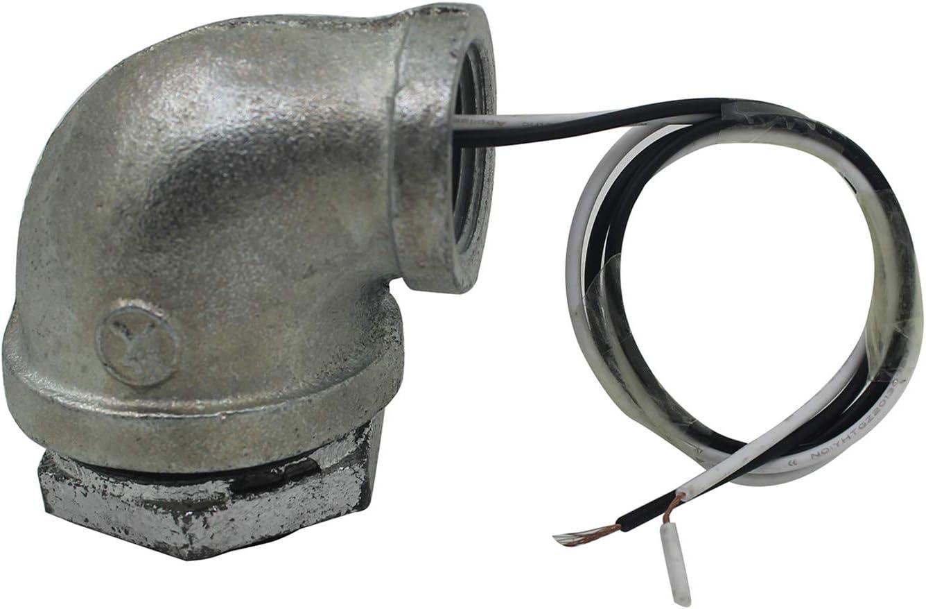 Steampunk lampenfassung industrie f/ür Tischlampe rohr wandleuchte vintage industrial 1//2 3//4 1 1-1//4 1-1//2 zoll 2-Wege geradeaus, 1//2 zoll