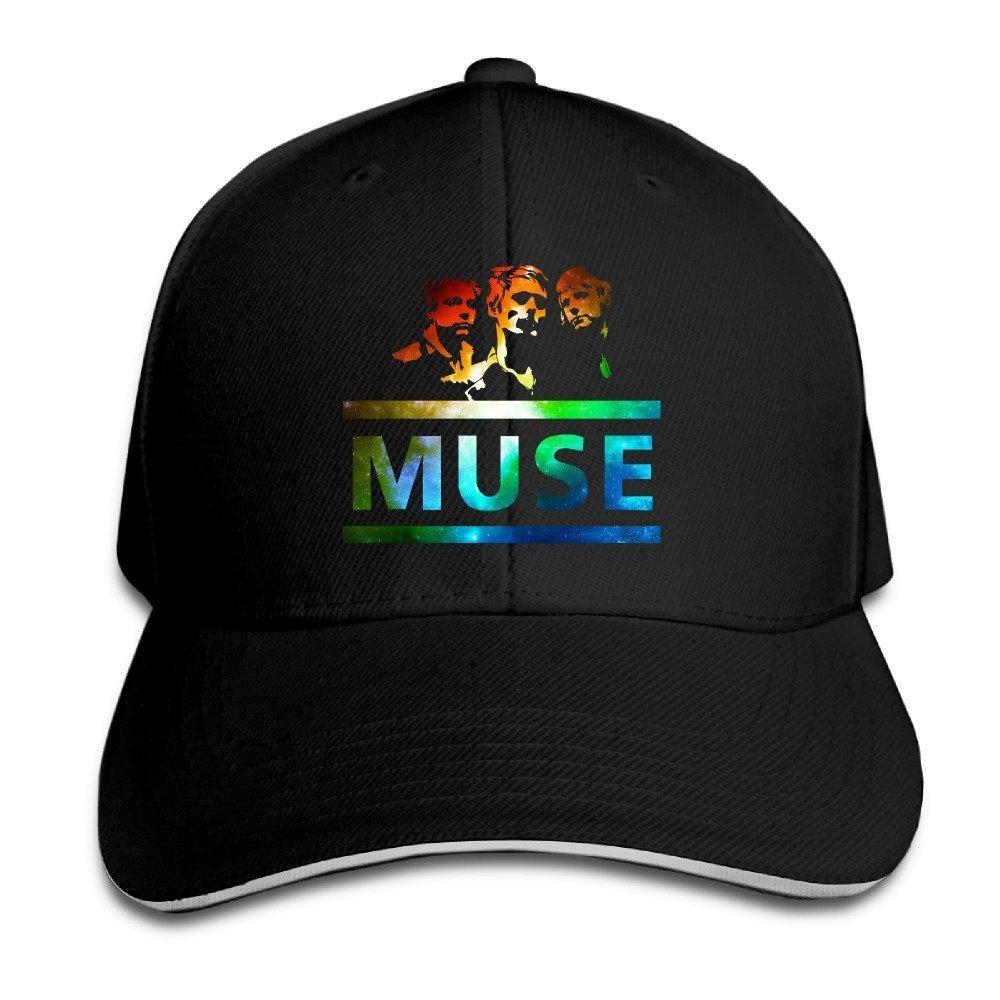 Hittings Muse Sandwich Peaked Hat//Cap Black