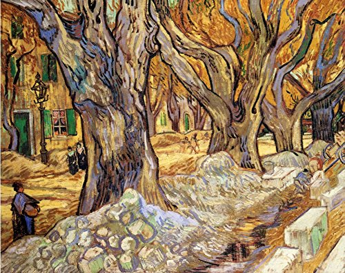 (Vincent Van Gogh Large Plane Trees Circa 1889 : Art Print)