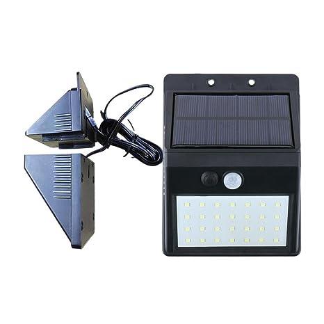 STRIR Foco Solar Exterior,Luz Solar Jardín de 28 LED, Luces Solares con Sensor