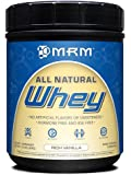 MRM - Whey Protein Powder, With Essential Amino Acids, BCAAs and Glutamine for Maximum Muscle Growth and Development (Rich Vanilla, 16 oz)