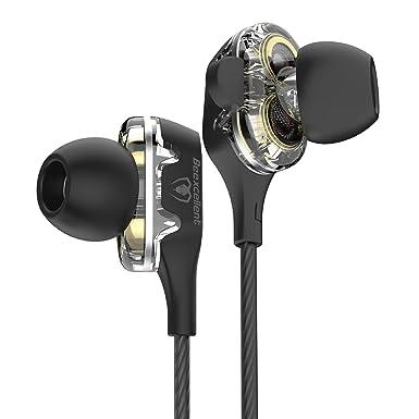 Beexcellent In-Ear Headphone, Dual Dynamic Driver Bass