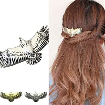 Wing French Barrette Hair Clip Hair Ties & Styling Accs