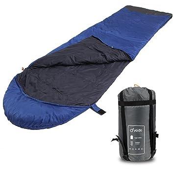 Yodo bolsa de dormir clima cálido 40 – 60 Degree F – resistente al agua ligero