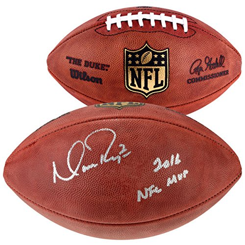 lcons Autographed Duke Pro Football with
