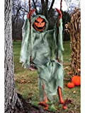 Fun World Unisex-Adults Swinging Pumpkin, Multi, Standard