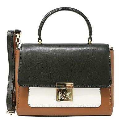 426878df6699 Amazon.com  MICHAEL Michael Kors MINDY Medium Leather Convertible Top  Handle Satchel Crossbody Bag -  Shoes