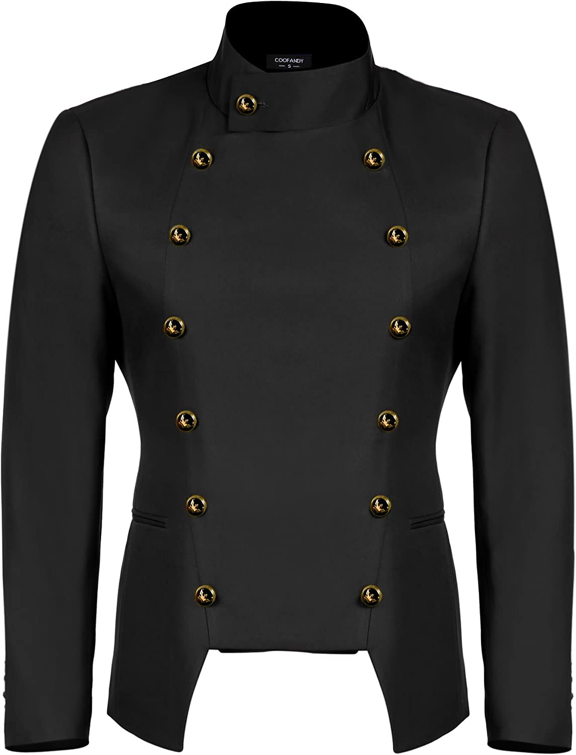 COOFANDY Men's Casual Double-Breasted Jacket Slim Fit Blazer at  Men's Clothing store