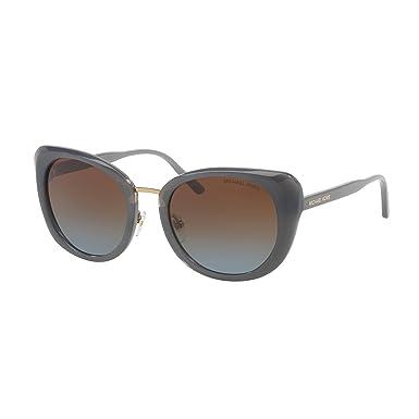 MICHAEL KORS Michael Kors Damen Sonnenbrille »LISBON MK2062«, grau, 332113 - grau/ blau
