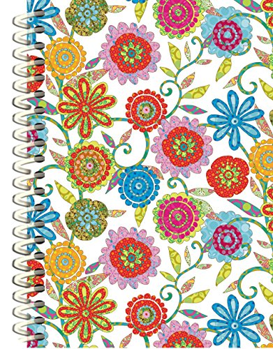 Wells Street by Lang  Daisies Spiral Journal by Tim Coffey, 1 Journal (9000500)