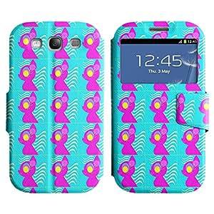 LEOCASE lindo perro Funda Carcasa Cuero Tapa Case Para Samsung Galaxy S3 I9300 No.1006678