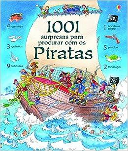 1001 Surpresas Para Procurar com os Piratas (Em Portuguese do Brasil): Vários Autores: 9781409535393: Amazon.com: Books