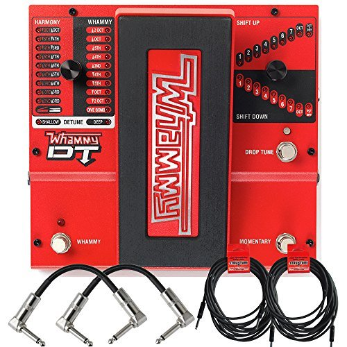 Digitech Whammy Pedal (Digitech Whammy DT Pitch Shift Drop Tune Guitar Effects Pedal and Cables)