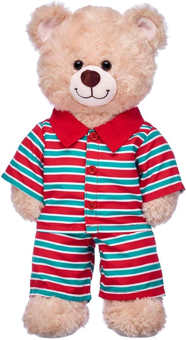 Build A Bear Workshop Holiday Stripes Pajamas
