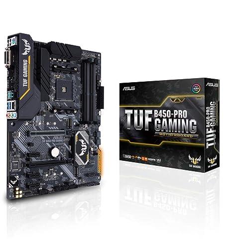 Asus TUF B450-PRO Gaming AM4 AMD B450 ATX - Placa con Aura Sync ...