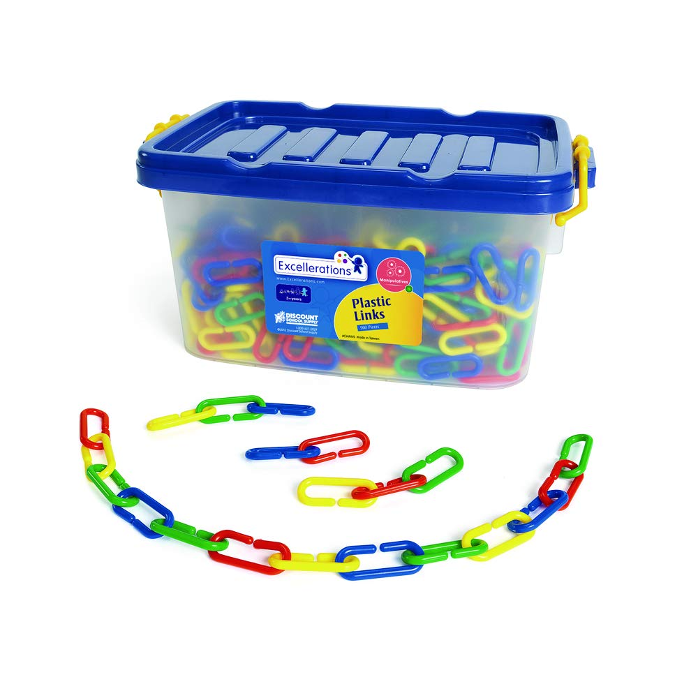 Excellerations Plastic Links 500 Pieces Interactive Toy for Kids
