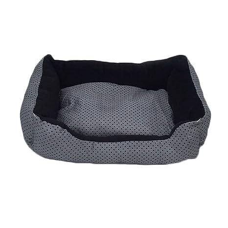 GCHOME Cama de Perro Pet Bed Canvas Kennel Suave y Cómodo Resistente al Agua Impermeable Antideslizante