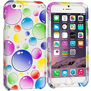 Accessory Planet(TM) Bubbles 2D Hard Snap-On Design Rubberized Case Cover Accessory for Apple iPhone 6 (4.7)